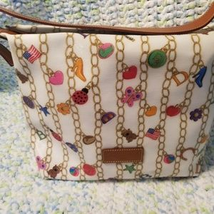 Dooney and bourke charm bracelet bag